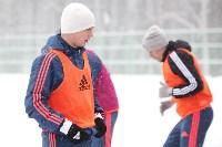 «Арсенал» готовится на снежном поле к игре против «Тосно», Фото: 13