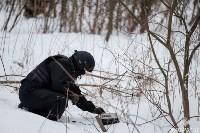 Учения: В Тульской области СОБР и ОМОН обезвредили вооруженных преступников, Фото: 14