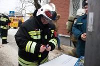 Пожарные ликвидировали условное возгорание в здании тульской ЕДДС, Фото: 3