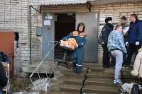 У дома, поврежденного взрывом в Ясногорске, демонтировали опасный угол стены, Фото: 21