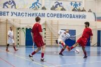 Мэр Тулы Юрий Цкипури и команда ветеранов «Фаворит» сыграли в футбол с волонтерами, Фото: 38