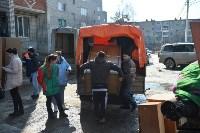 У дома, поврежденного взрывом в Ясногорске, демонтировали опасный угол стены, Фото: 22