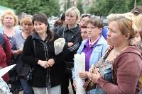 Мини-бунт перед сносом торговых павильонов на Фрунзе. 23.06.2015, Фото: 20