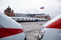 Алексей Дюмин передал региональному Центру медицины катастроф 39 новых автомобилей, Фото: 5