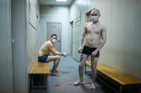 Экспресс-тест на covid-19, маски и социальная дистанция: В Туле первых призывников отправили в армию, Фото: 40