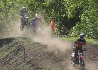 Юные мотоциклисты соревновались в мотокроссе в Новомосковске, Фото: 57