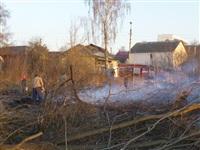 Возгорание сухой травы на ул.Комбайновая, Фото: 11