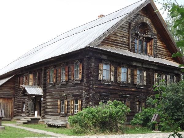 Кострома, музей деревянного зодчества