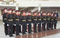 В Музее оружия торжественно укрепили на древке знамя суворовского училища, Фото: 2