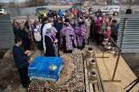 Митрополит Алексий освятил колокола храма в поселке Рождественский, Фото: 2