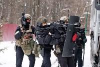 Учения: В Тульской области СОБР и ОМОН обезвредили вооруженных преступников, Фото: 8
