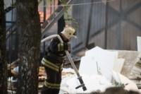 На стройке на улице Фрунзе сгорели вагончики рабочих., Фото: 6