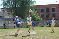 Тульские журналисты сыграли в футбол с зэками, Фото: 47