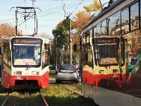 В Туле на ул. Кирова трамвай протаранил легковушку, Фото: 7