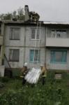 Восстановление домов в селе Воскресенское после урагана. 2.07.2014, Фото: 11