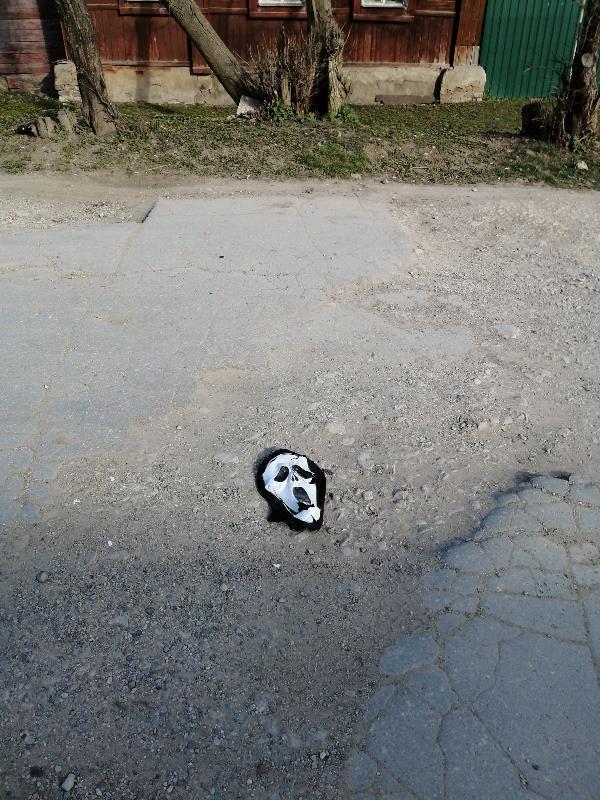 Кто-то потерял на улице Демидовской.