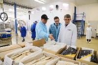 Дмитрий Миляев посетил предприятие по производству замороженной рыбы и полуфабрикатов, Фото: 27