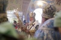 Божественная литургия в храме Сергия Радонежского, Фото: 3