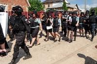Плеханово, итоги дня: В таборе принудительно снесли первые 10 домов, Фото: 20