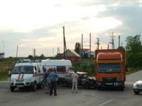 Под Щекино «шестёрка» залетела под грузовик, Фото: 4