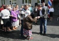 Вручение ключей от новых квартир переселенцев из аварийного жилья в Донском, Фото: 10