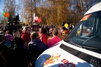Второй этап эстафеты олимпийского огня: Зареченский район, Фото: 37