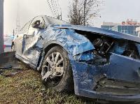 На Щекинском шоссе в Туле произошло тройное ДТП, Фото: 8