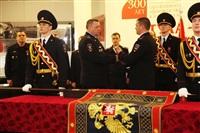 В Туле прошла церемония крепления к древку полотнища знамени регионального УМВД, Фото: 7