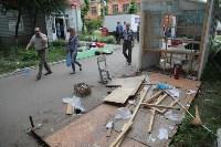 Ликвидация торговых рядов на улице Фрунзе, Фото: 16