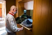 Экспресс-тест на covid-19, маски и социальная дистанция: В Туле первых призывников отправили в армию, Фото: 26