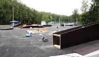 Строительство скейтпарка в Центральном парке., Фото: 8