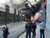 Загорелся недостроенный ТЦ на Красноармейском проспекте, Фото: 43