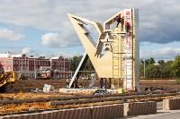 Установка стелы возле Тульского суворовского училища, Фото: 1