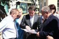 Груздев инспектирует строительство бассейна на Гоголевской. 3.08.2015, Фото: 10