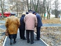 Обновление сквера Космонавтов в г.Щёкино., Фото: 3