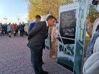 В Туле открыли памятник экипажу танка Т-34, Фото: 67