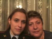лейтенант полиции Воробьева Анастасия Юрьевна, инспектор по исполнению административного законодательства УГИБДД с мамой. Тульская область, Фото: 9