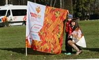 Первый этап эстафеты олимпийского огня: Пролетарский район, Фото: 1