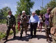 Останки бойцов в деревне Криволучье, Фото: 42