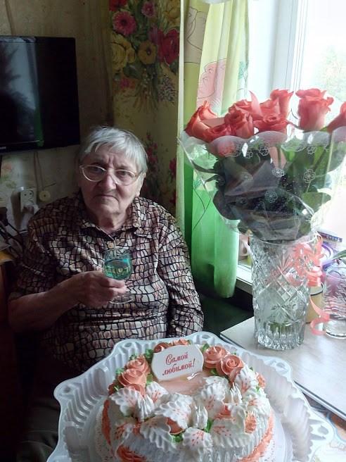 Моей мамочке 85 лет!