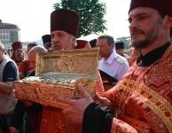 В Тулу доставлен ковчег с мощами Георгия Победоносца, Фото: 15