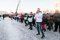 Физкультминутка на площади Ленина. 27.12.2014, Фото: 21