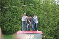 """Файер-шоу от болельщиков """"Арсенала"""". 16 мая 2014 года, Центральный парк, Фото: 47"""