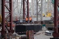 В Туле министр промышленности и торговли РФ  осмотрел  стройплощадку ООО «Тулачермет-Сталь», Фото: 6