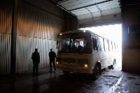 Как в Туле дезинфицируют маршрутки и автобусы, Фото: 28
