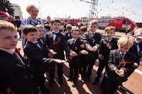Открытие монумента и бронепоезда на Московском вокзале. 8 мая 2015 года, Фото: 92