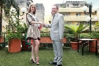 Тулячка Наталья Полуэктова  представляла Россию на бизнес-форуме туризма в Конго, Фото: 7