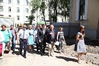 Груздев инспектирует строительство бассейна на Гоголевской. 3.08.2015, Фото: 9