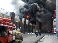 Загорелся недостроенный ТЦ на Красноармейском проспекте, Фото: 36