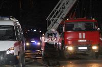 Крупный ночной пожар в Туле, Фото: 40